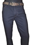 MEYER PANTALONE UOMO MOD. CHICAGO 2-3904/17 STRETCH BLU FODERATO '' THERMO''drop