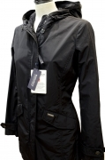 WOOLRICH W'S SUMMER PARKA COLORE NERO GIACCA IMPERMEABILE DONNA wwcps2468