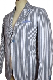 ALESSANDRO GILLES GIACCA UOMO TG. 50 RIGA  SLIM FIT MADE IN ITALY G2DE