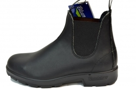 BLUNDSTONE 510 STIVALETTI AUSTRALIANI NERO PREMIUM LEATHER VOLTAN BLACK