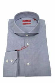 HUGO BOSS Camicia regular fit colletto francese GRIGIO Modello Vepic 50405135