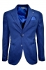 ALESSANDRO GILLES GIACCA SFODERATA UOMO SLIM FIT GTEL 0734 BLUE