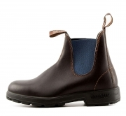 BLUNDSTONE 578 STIVALETTI AUSTRALIANI PREMIUM LEATHER STOUT BROWN BLUE