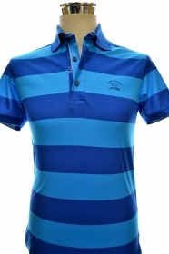 PAUL SHARK YACHTING POLO ART E14P0121SF COL. 685 SLIM FIT MULTICOLOR TG. S