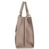 TRUSSARDI JEANS BORSA CHARLOTTE TOP HANDLE MD TAUPE 75B00828