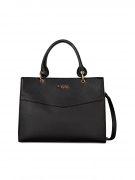 TRUSSARDI JEANS BORSA CHARLOTTE TOP HANDLE MD NERO 75B00828