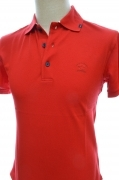 PAUL SHARK YACHTING COLLECTION POLO E14P0074sf COL. 577 RED SLIM FIT TAGLIA S