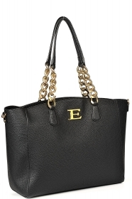 ERMANNO SCEVINO BORSA MOD. LARGE TOTE BAG NEW EBA 12400815 BLACK