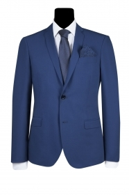 SIMBOLS ABITO UOMO DROP 8 SUPER SLIM FIT BLU ROYAL COD. A10700