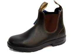 BLUNDSTONE 500 STIVALETTI AUSTRALIANI STOUT BROWN PREMIUM LEATHER