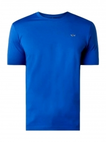 Paul Shark Yachting T-shirt IN COTONE COLORE ROYAL REGULAR FIT E20P1074