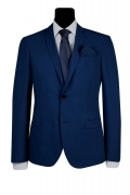 SIMBOLS ABITO UOMO DROP 8 SUPER SLIM FIT BLU SCURO COD. A10700 MADE IN ITALY