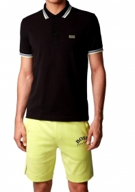 HUGO BOSS Polo in pique di cot