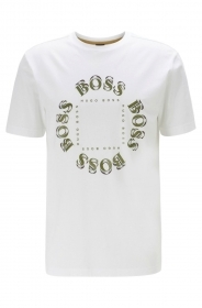 HUGO BOSS T-shirt cotone elast