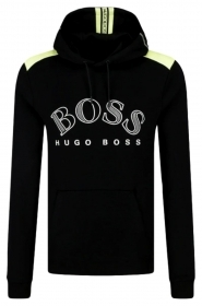 HUGO BOSS Felpa regular fit con gra