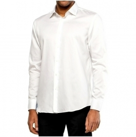 HUGO BOSS CAMICIA UOMO MOD GORAN REGULAR FIT Bianco 50427958