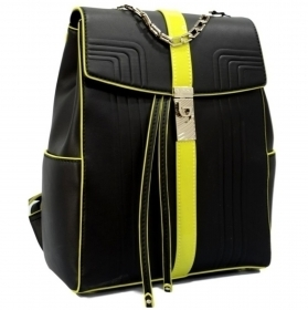 BYBLOS ZAINETTO DONNA 2WB0079 DETROIT BACKPACK BLACK BLACK PORTABILE A SPALLA