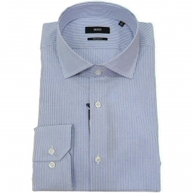 HUGO BOSS Camicia regular fit in cotone RIGA SOTTILE Mod. Gordon 50427737