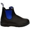 BLUNDSTONE 515 STIVALETTI AUSTRALIANI PREMIUM LEATHER VOLTAN BLACK BLUE