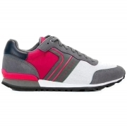 HUGO BOSS Sneakers Stringate in tessuto ibrido Parkour_Runn_nymx - 50317133 PINK