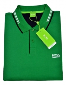 HUGO BOSS POLO slim fit Cotone