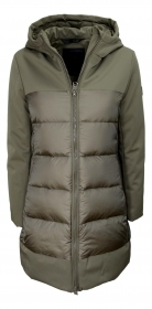 HOX GIACCONE DONNA XD4719 TECHNICAL COAT PIUMINO COLORE GLACE'