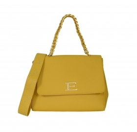 ERMANNO SCERVINO BORSA DONNA SMALL FLAP EBA WINTER PLAIN 12401034 YELLOW