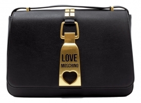 LOVE MOSCHINO BORSA PU NERO JC
