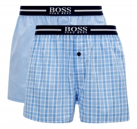 HUGO BOSS BOXER IN POPELINE DI