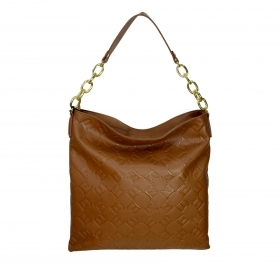 ERMANNO SCERVINO BORSA HOBO BAG FEDERICA 12400775S TAN