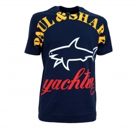 PAUL SHARK T-Shirt in cotone o