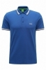 HUGO BOSS POLO UOMO REGULAR-FIT MOD. PADDY IN PIQUE\' COLORE BLUET 50198254
