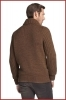 "HUGO BOSS UOMO MAGLIONE CARDIGAN tg. XL mod. ""LINCEN\"" col. MARRONE REGULAR FIT"