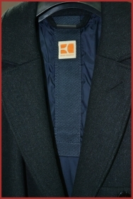 "HUGO BOSS CAPPOTTO tg. 52 col.BLU SCURO mod. ""OTUCKER""   cod. 50208491"