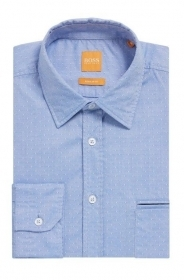 HUGO BOSS Camicia regular fit in cotone dobby Modello Classy CON TASCA 50372686