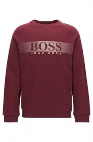 HUGO BOSS Felpa regular fit in french terry Modello Shirt-LS RN - 50374364