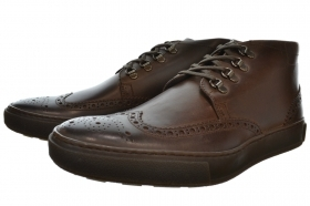 HUGO BOSS Stivaletti Corbios in pelle  ART. 50247834 DARK BROWN
